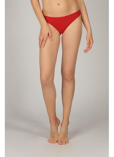 Hays Kadın Arkası Dantelli Hipster Külot Kırmızı